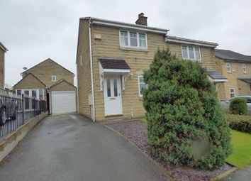 Thumbnail 3 bed semi-detached house for sale in 27 Vale House Drive, Hadfield, Glossop