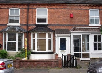 Thumbnail 3 bed terraced house to rent in Park Street, Tamworth, Staffordshire