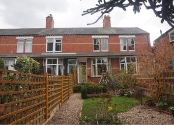 Thumbnail 2 bed terraced house for sale in Havelock Road, Shrewsbury