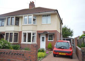 Thumbnail 3 bed semi-detached house for sale in Longridge Avenue, Blackpool