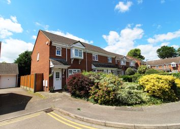 Thumbnail 3 bed end terrace house for sale in Judith Gardens, Kempston