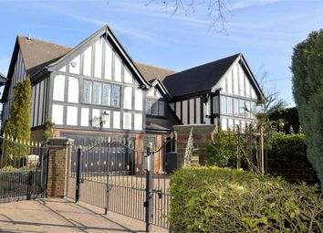 Thumbnail 4 bed detached house for sale in Bury Lane, Epping, Essex