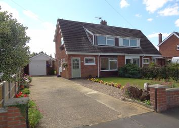 Thumbnail 3 bedroom semi-detached house for sale in St. Denys Avenue, Sleaford