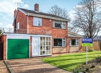 Thumbnail 3 bedroom detached house for sale in Oakleigh Drive, Orton Longueville, Peterborough
