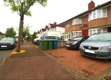 Thumbnail 3 bed terraced house to rent in Clitheroe Avenue, Harrow