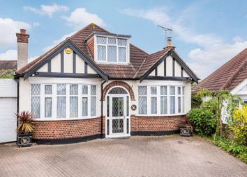 Thumbnail 4 bedroom detached bungalow for sale in Woodside Close, Surbiton