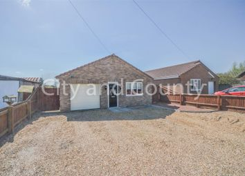 Thumbnail 3 bed detached bungalow for sale in Barbers Drove South, Crowland, Peterborough