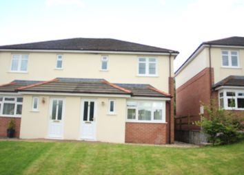 Thumbnail 3 bed semi-detached house for sale in Caerbryn Road, Pen Y Groes