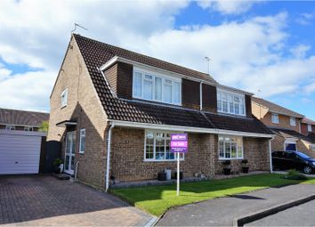 Thumbnail 3 bed semi-detached house for sale in Lavinia Way, East Preston, Littlehampton