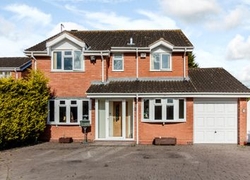 Thumbnail 4 bed detached house for sale in Wykeham Grove, Wolverhampton