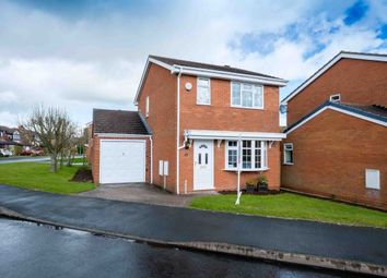 Thumbnail 3 bedroom detached house for sale in Leasowe Drive, Perton, Wolverhampton