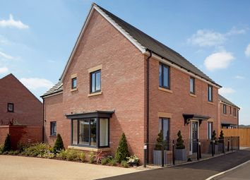 "Thumbnail 4 bedroom detached house for sale in ""The Clarence"" at Gidding Road, Sawtry, Huntingdon"