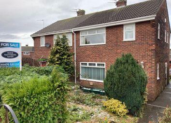 3 bed semi-detached house for sale in Terrier Close, Bedlington NE22