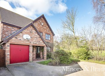 Thumbnail 5 bed detached house for sale in Hampden Drive, Thorpe St. Andrew, Norwich