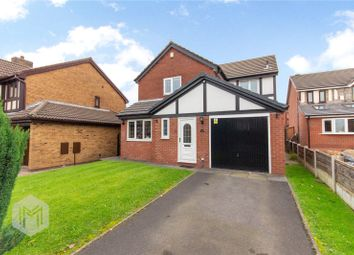 Thumbnail 4 bed detached house for sale in Burghley Drive, Radcliffe, Manchester, Greater Manchester
