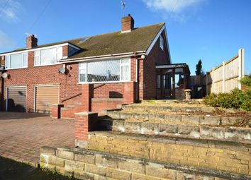 Thumbnail 3 bed semi-detached bungalow for sale in Mount Place, Forsbrook