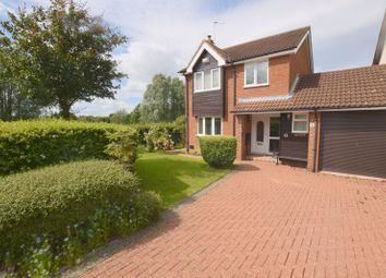Thumbnail 3 bedroom link-detached house for sale in Dunster Court, Furzton, Milton Keynes