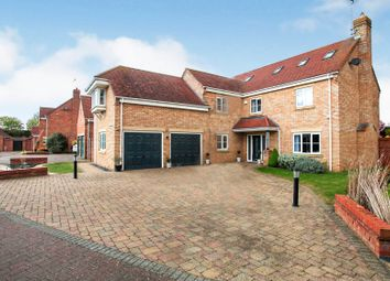 Thumbnail 7 bed detached house for sale in Easby Rise, Eye, Peterborough