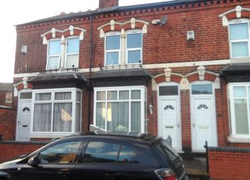 Thumbnail 2 bed terraced house to rent in Howard Road, Handsworth Wood