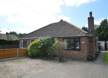 Thumbnail 2 bed semi-detached bungalow for sale in South Hill Road, Thorpe St Andrew, Norwich, Norfolk