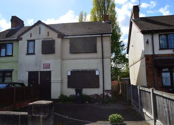 Thumbnail 3 bed terraced house for sale in Aston Road, Willenhall
