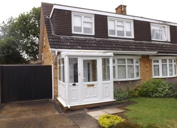 Thumbnail 3 bed property to rent in Turnpike Drive, Luton