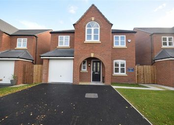 Thumbnail 4 bed detached house for sale in Central Park Road, Lostock Hall, Preston, Lancashire