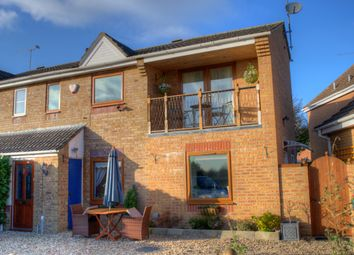 Thumbnail 4 bed semi-detached house for sale in Elm Close, Lyneham, Chippenham
