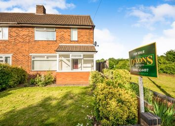 Thumbnail 2 bedroom semi-detached house for sale in Wilkes Avenue, Bentley, Walsall, Wednesbury