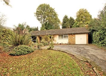 Thumbnail 3 bed detached bungalow for sale in St Johns, Woking, Surrey