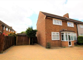 Thumbnail 3 bed semi-detached house for sale in Lowshoe Lane, Collier Row, Romford