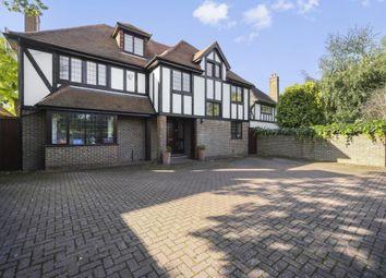 Thumbnail 5 bedroom detached house to rent in Oatlands Drive, Weybridge