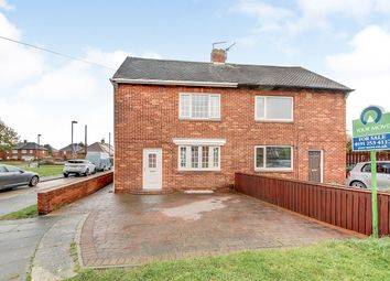 Thumbnail 2 bed semi-detached house for sale in Kirkley Road, Shiremoor, Newcastle Upon Tyne, Tyne And Wear