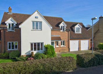 Thumbnail 5 bed detached house for sale in Dorral Dean, Highfields Caldecote, Cambridge