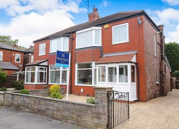Thumbnail 3 bedroom semi-detached house for sale in Coombes Street, Great Moor, Stockport