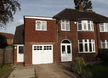Thumbnail 4 bed semi-detached house for sale in Coleshill Road, Water Orton, Birmingham