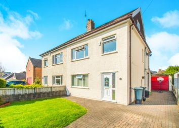 Thumbnail 4 bed semi-detached house for sale in Lon-Y-Celyn, Cardiff