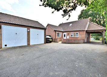 Thumbnail 3 bedroom detached house for sale in Manor Road, Dersingham, King's Lynn