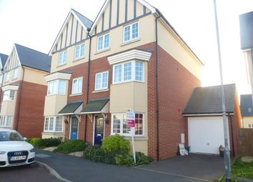 Thumbnail 4 bed town house to rent in Blade Road, Colchester