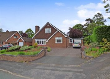 Thumbnail 4 bed detached bungalow for sale in Herm Close, Westlands, Newcastle-Under-Lyme