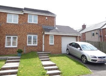 Thumbnail 2 bed semi-detached house to rent in The Woodlands, Langley Park, Durham