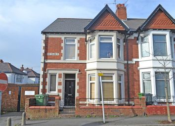 Thumbnail 4 bed end terrace house for sale in New Zealand Road, Heath/Gabalfa, Cardiff