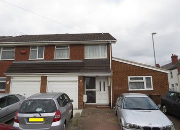 Thumbnail 4 bedroom semi-detached house for sale in Cobden Street, Walsall