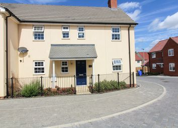 Thumbnail 4 bed semi-detached house for sale in Gilbert Road, Stanton, Bury St. Edmunds