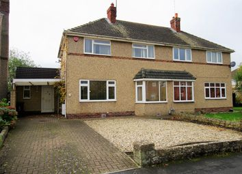 Thumbnail 3 bed semi-detached house for sale in Highclere Avenue, Lawns, Swindon