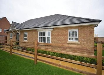 Thumbnail 2 bed semi-detached bungalow to rent in Cox Meadow Road, Leicester Forest East, Leicester