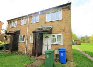 Thumbnail 1 bed terraced house for sale in Long Dale, Forest Town, Mansfield