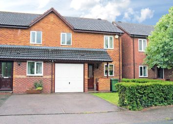 Thumbnail 3 bed semi-detached house to rent in Gundry Close, Leamington Spa
