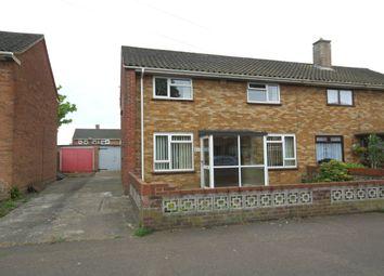 Thumbnail 3 bedroom semi-detached house for sale in Watling Road, Heartsease, Norwich