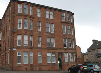 Thumbnail 1 bed flat to rent in Bank Street, Greenock